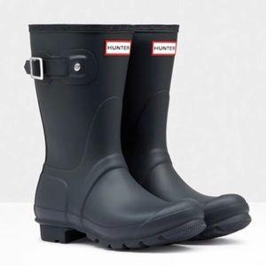 Short Hunter Rain Boots